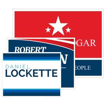 Political Site Signs