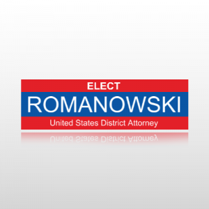 District Attorney Sticker 1 - Bumper Sticker