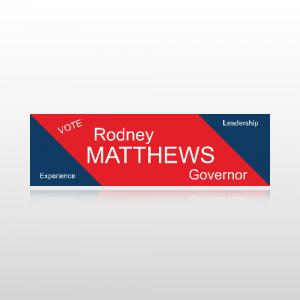 Governor Sticker 1 - Bumper Sticker