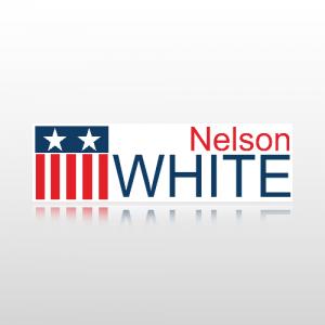 Candidate Name Sticker 1 - Bumper Sticker