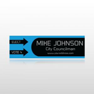 City Councilman Bumper Sticker 2 - Bumper Sticker