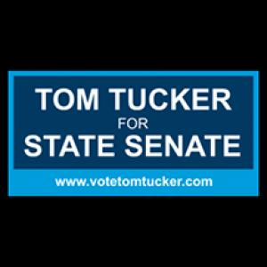 Tom Tucker State Senate Sign - Magnetic Sign