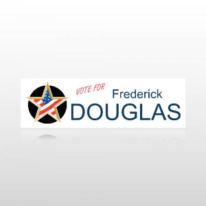 Candidate Name Sticker 3 - Bumper Sticker