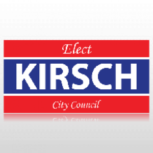 City Council Political Banner
