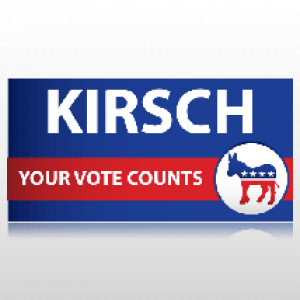 Democratic Party Political Banner