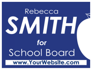 Political Custom Sign 27 - Yard Sign