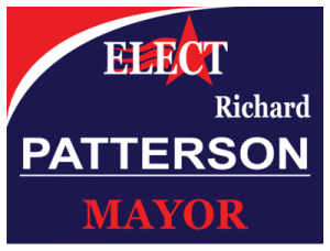 Political Custom Sign 34 - Yard Sign