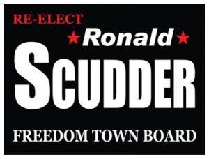 Political Custom Sign 40 - Yard Sign