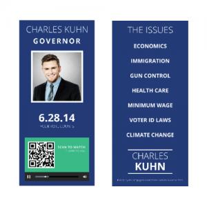 Campaign Buzz Cards - Design 2 (Square)