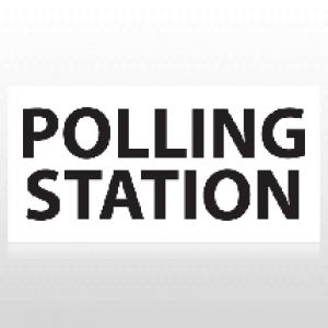 Polling Station Political Banner