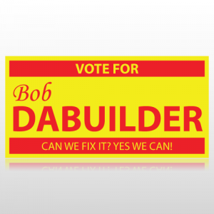 Vote For Me Political Banner