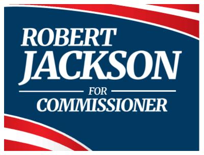 Commissioner (GNL) - Yard Sign