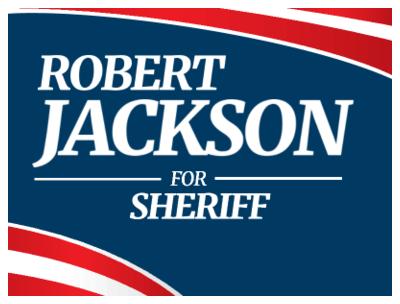 Sheriff (GNL) - Yard Sign