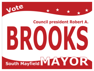 Political Custom Sign 28 - Yard Sign