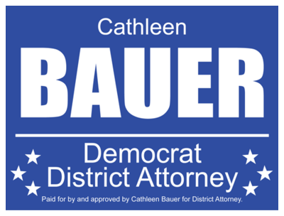 Political Custom Sign 36 - Yard Sign