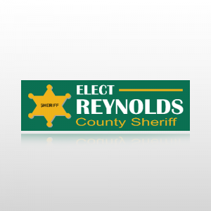 County Sheriff Sticker 1 - Bumper Sticker
