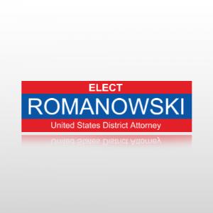 District Attorney Sticker 1 - Bumper Sticker
