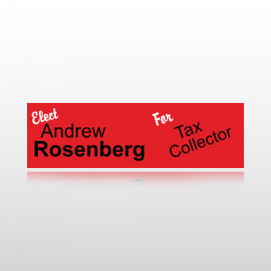 Tax Collector Bumper Sticker 2 - Bumper Sticker