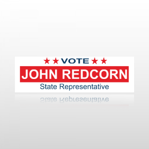 State Representative Bumper Sticker 2 - Bumper Sticker