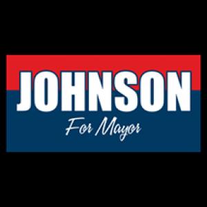 Johnson For Mayor Sign - Magnetic Sign