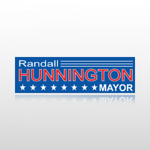 Mayor Sticker 1 - Bumper Sticker