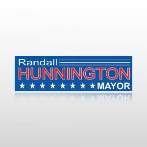 Mayor Sticker 1 - Bumper Sticker