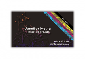 "Business Card 14pt Coated 2""H x 3.5""W"