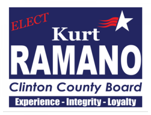 Political Custom Sign 8 - Yard Sign