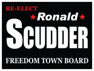 Political Custom Sign 40 - Yard Sign