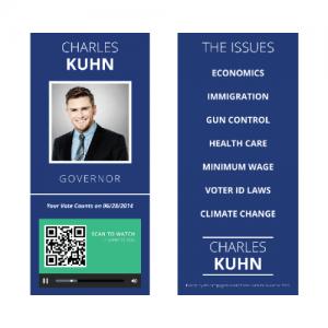 Campaign Buzz Cards - Design 1 (Square)