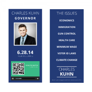 Campaign Buzz Cards - Design 2 (Square)
