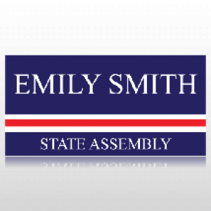 State Assembly Political Banner