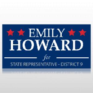 State Representative Political Banner