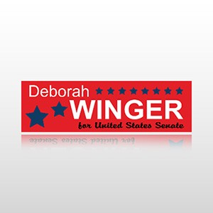 State Senator Sticker 1 - Bumper Sticker