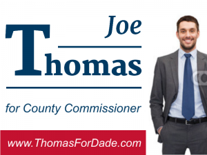Joe Thomas - County Commissioner