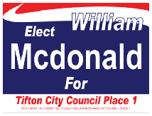 Political Custom Sign 12 - Yard Sign