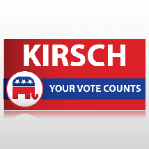 Republican Party Political Banner